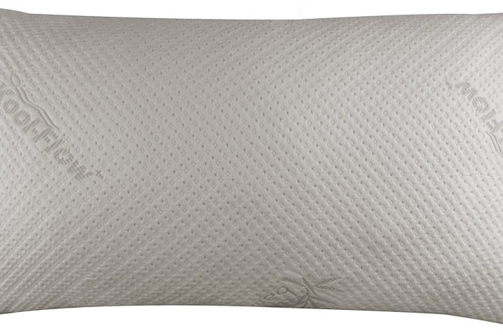 Best Memory Foam Pillow for Back Sleepers - Snuggle-Pedic Bamboo Shredded Memory Foam Pillow