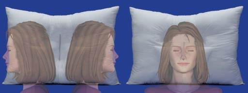 Arck4life cervial pillow is for all position of sleepers