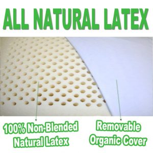 All natural latex with great quality
