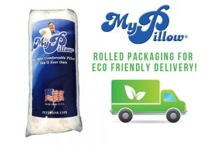My pillow eco friendly delivery