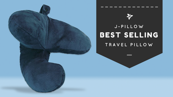 J-Pillow best selling travel pillow