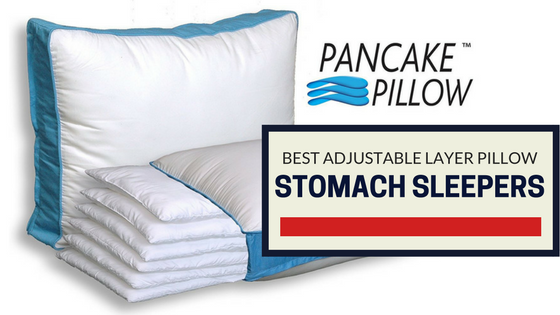The Pancake Pillow – Best Adjustable Layer Pillow For Stomach Sleepers