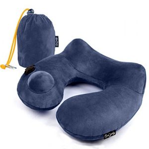 AirComfy Push-Button Inflatable Daydreamer neck pillow