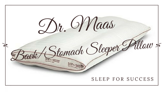 Sleep for Success Back Sleeper Pillow Review