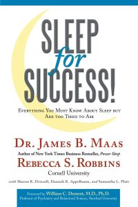 Dr Maas's famous Sleep for Success!
