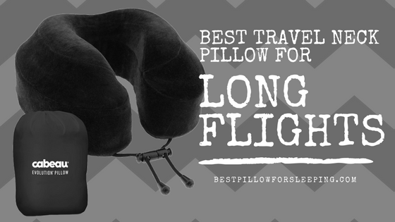 Best Travel Neck Pillow for Long Flights