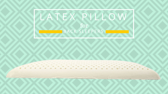 latex pillow for back sleepers